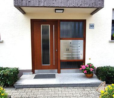 neue Eingangstür